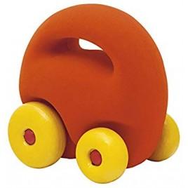 Mascot car orange