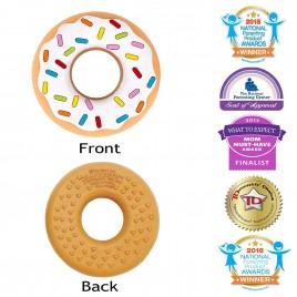 Jouet de dentition Donut Vanille