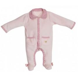 Pyjama rose naissance Mila