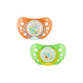 Sucette Physio Air - x2 - Phosphorescent - 6-12m