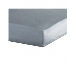 drap housse 40X80cm gris