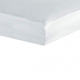 drap housse 70X140cm blanc