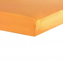 drap housse 70X140cm orange