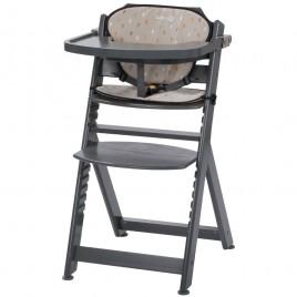 Chaise haute Timba warm grey