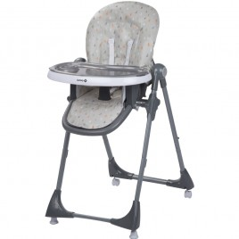 Chaise haute Kiwi warm grey