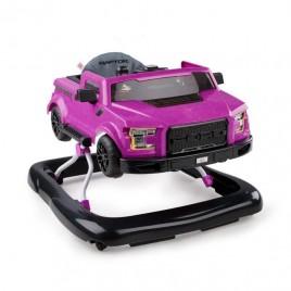 Trotteur 3 en 1 Ford F150 rose