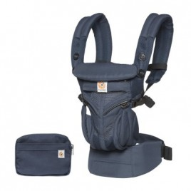 Porte bébé Omni 360 col air mesh oxford blue