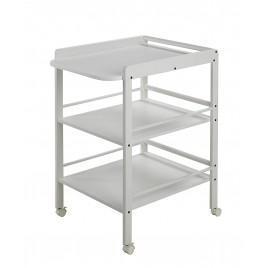 Table à langer Clarissa blanc