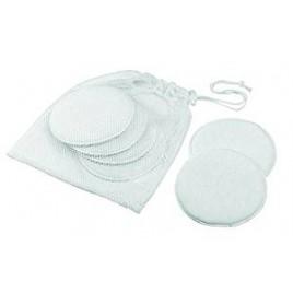 Coussinets d'allaitement lavable bambou X6