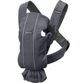Porte bébé mini anthracite mesh