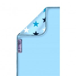 Couverture étoiles bleus Dooky