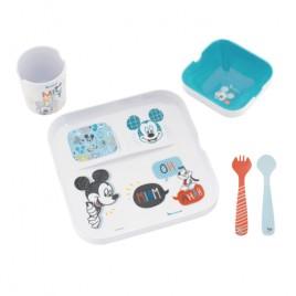Set repas mélaminé Mickey