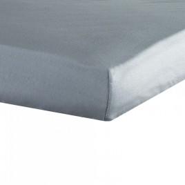 drap housse 70X140cm gris