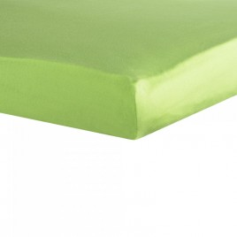 drap housse 70X140cm vert