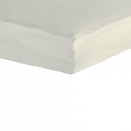 drap housse 70X140cm étoiles blanc-gris