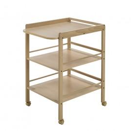 Table à langer Clarissa bois naturel