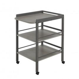 Table à langer Clarissa gris taupe