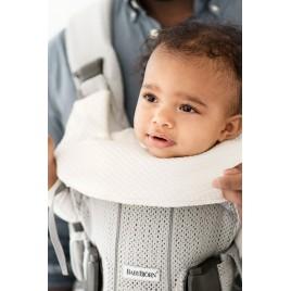 Bavoir pour porte bébé blanc