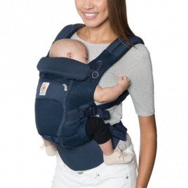 Porte Bébé Adapt cool air mesh deep blue