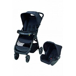 Poussette Taly travel system black chic