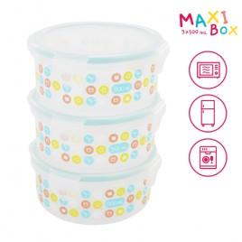 Maxibox 3 X 500ml