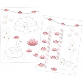 Stickers muraux Baby Swan