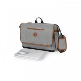 Messenger sac à langer gris clair chiné