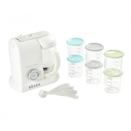 Pack Babycook 30 ans avec Babycook+6 Maxi-Portions+4 cuillères ergo
