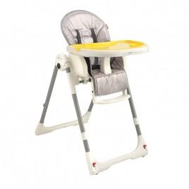 Chaise haute Design chevrons gris Aubert Concept