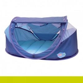 Tente nomade bleu