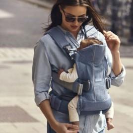 Porte bébé One Air bleu ardoise 3D Mesh