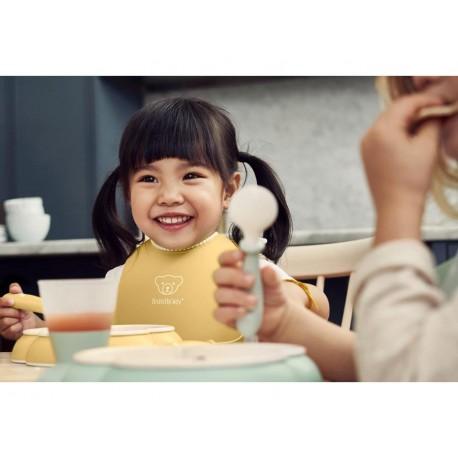 Coffret repas bébé Jaune pastel