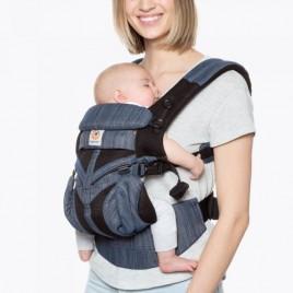 Porte bébé OMNI360 cool air mesh Indigo