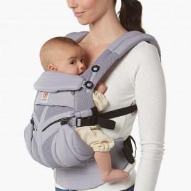 Porte bébé OMNI360 cool air mesh Gris lilas