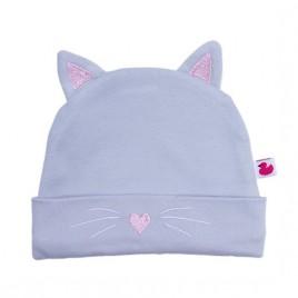 Bonnet doublé pur coton Petit Chat