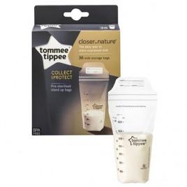 Sachets conservation du lait maternel x36