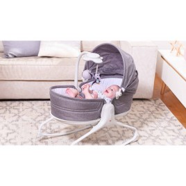 Transat ROCKER NAPPER évolution - Gris chiné