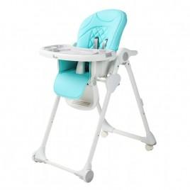 Chaise Haute Wheely Bleu