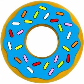 Jouet de dentition donut bleu
