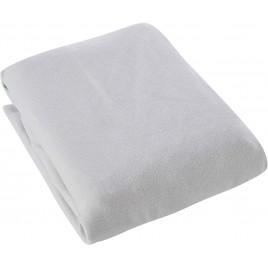 Housse pour matelas à langer double jersey 50x70cm soft grey