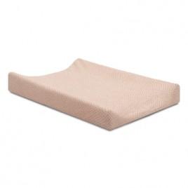Housse pour matelas à langer 50x70cm Mini waffle pink