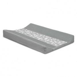 Housse pour matelas à langer 50x70cm Safari stone grey
