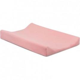 Housse pour matelas à langer double jersey 50x70cm soft pink