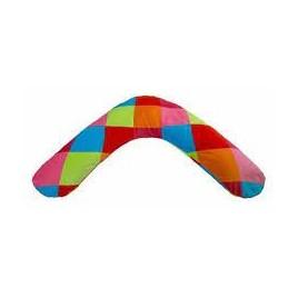Housse de coussin biberon Colourful Check
