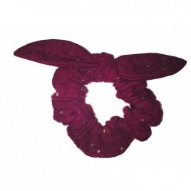 Chouchou prune pois or