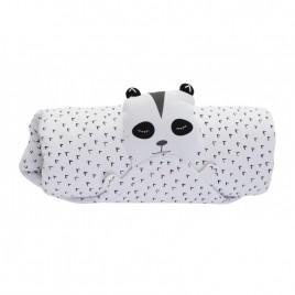 Ma couverture doudou panda blanc