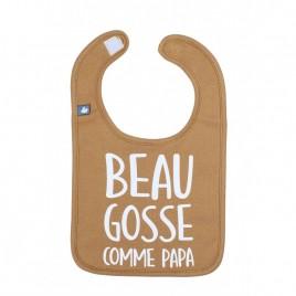 """Bavoir """"Beau gosse comme papa"""""""""""