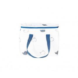 Lunch bag Blue Baleine