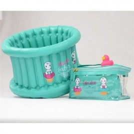 Pack Easy - Bain turquoise / canard rose