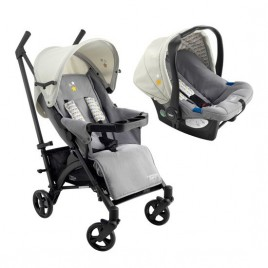 Pack poussette duo compact Arlequin